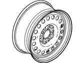 Mercury Spare Wheel - F8AZ-1007-CA