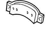 Ford E-150 Econoline Club Wagon Brake Pads - F1TZ-2001-A