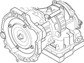 Ford 4S4Z-7000-FA Automatic Transmission Assembly
