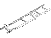 Ford 9C2Z-5005-CHN Frame Assembly