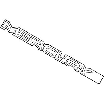 Genuine Ford Emblem 3W3Z-5443504-AA