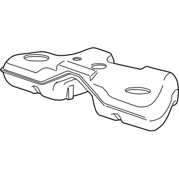 ford 1w4z-9002-ad - genuine ford tank assembly