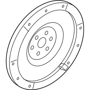 Ford 8E5Z-6375-A Flywheel