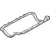 Ford 2U1Z-6710-AA Gasket - Oil Pan