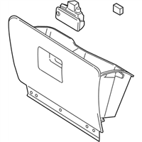 Ford 7L7Z-7806024-AA Box Assembly - Glove Compartment