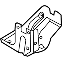 Ford 8G1Z-7B229-A Cable Bracket