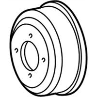 Ford 5L3Z-8509-AA Pulley - Water Pump