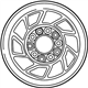 Ford E-150 Econoline Club Wagon Spare Wheel - F2TZ1015A