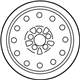 Ford Crown Victoria Spare Wheel - 3W7Z-1007-EA