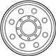 Ford Excursion Spare Wheel - 2C3Z-1007-AA